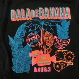 Camiseta Bananina + Mangue Beach Neon Vibes