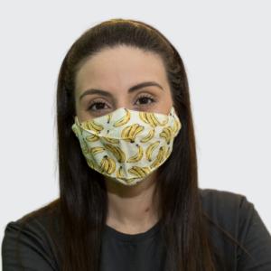 Máscara em Tricoline 3D