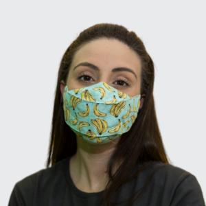 Máscaras em Tricoline 3D