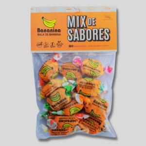 Bala de Banana – Mix de Sabores – 100GR